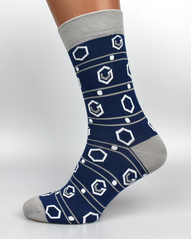 Шкарпетки з логотипом гексагон