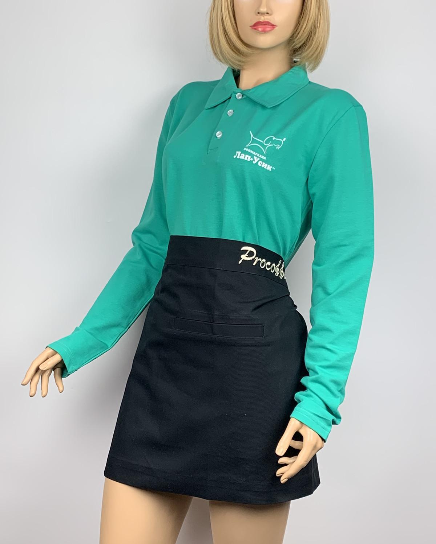 Тенниска поло с длинным рукавом женская №1