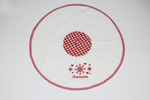Кухонное полотенце круглое