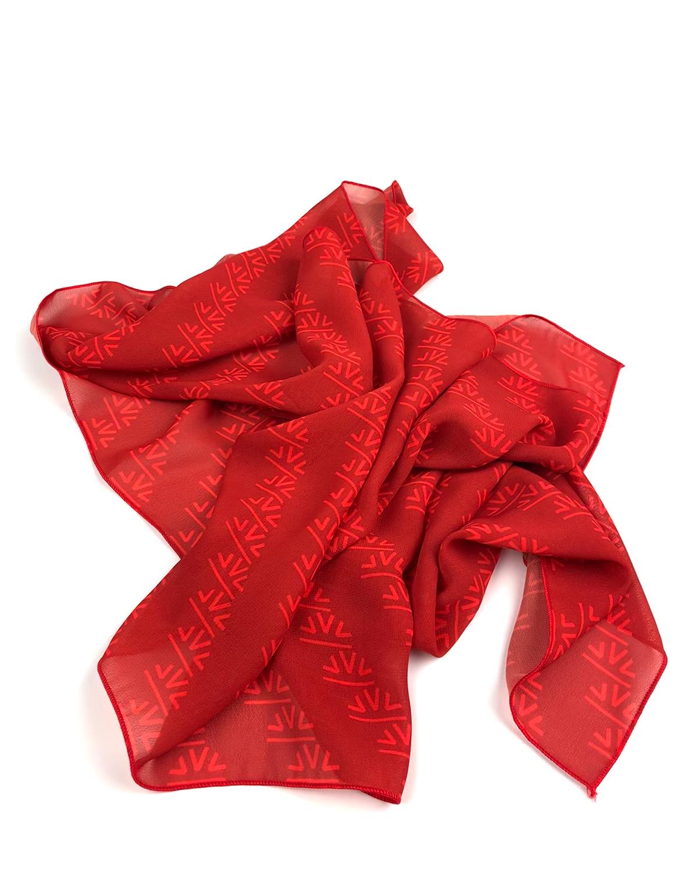 Печать шарфов с логотипом VAB Bank
