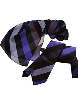 Галстук №19 корпоративный с логотипом