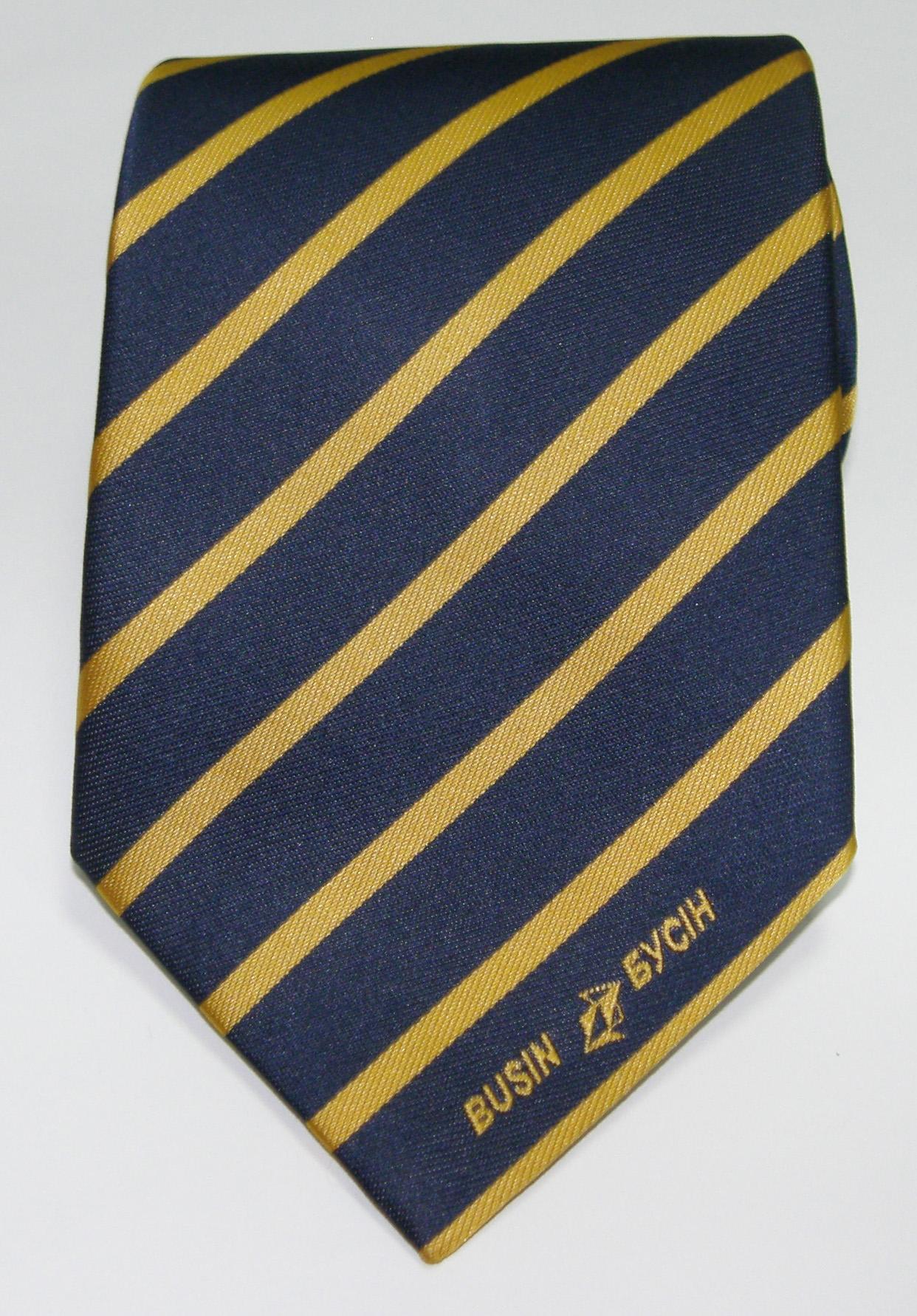 Галстук корпоративный с логотипом №04