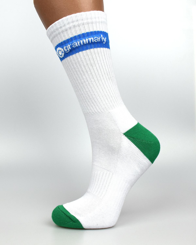 Шкарпетки з логотипом grammrly
