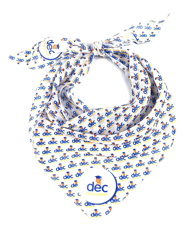 Косынка c лого для школы DEC Education