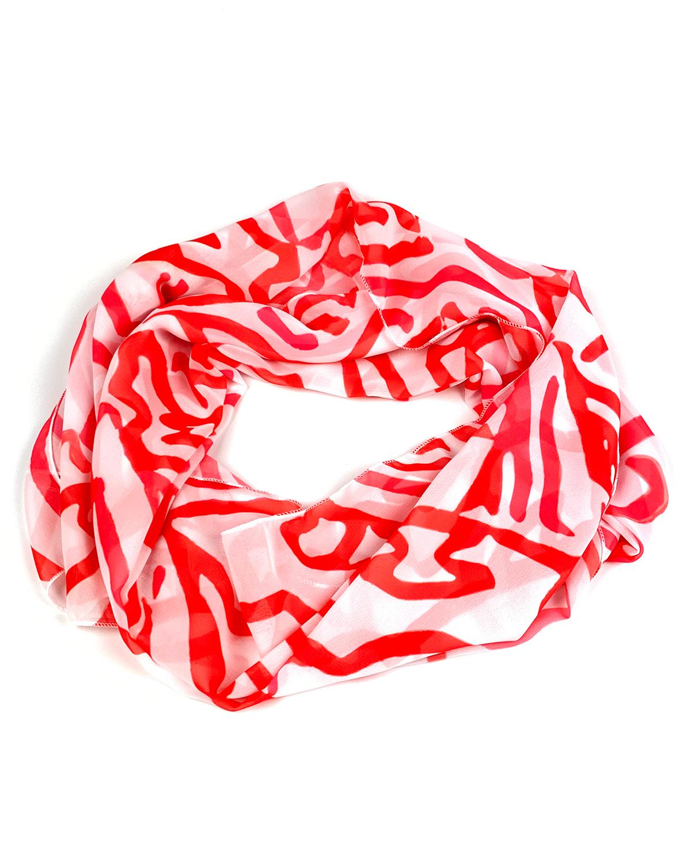 Печать шарфов с логотипом adpro