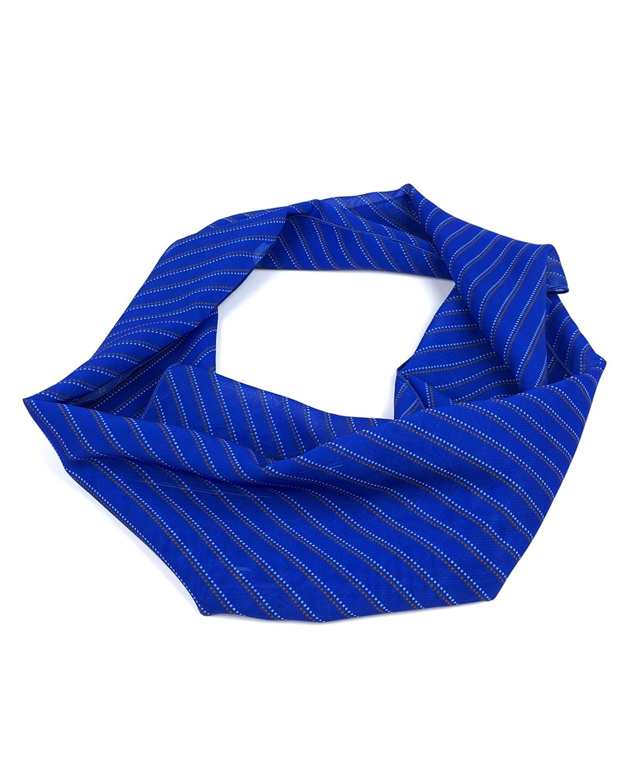 Шарф с логотипом Blue Polka Dots