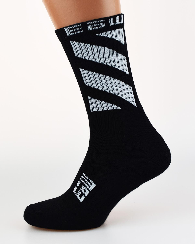 Носки с логотипом ЕБШ черный