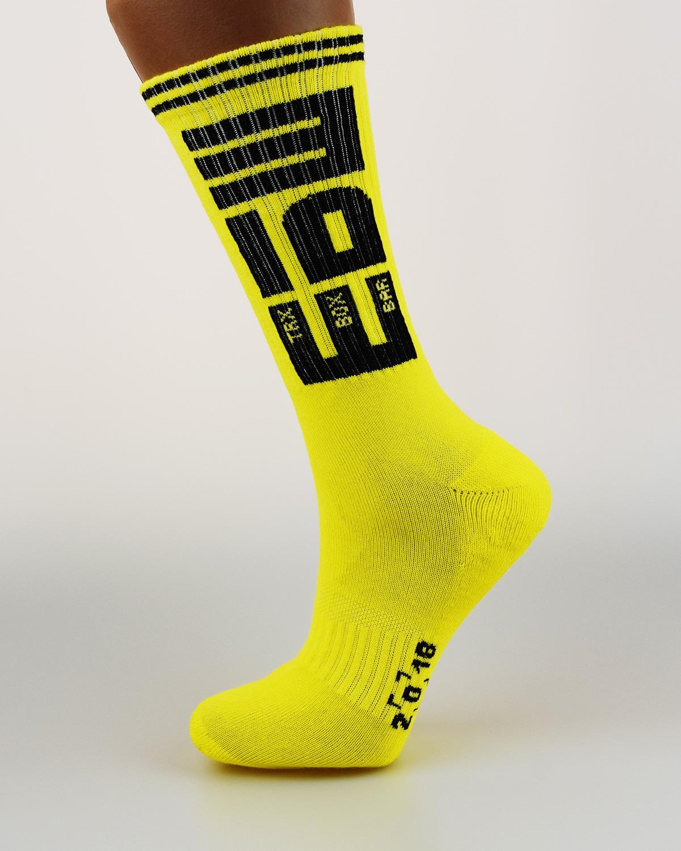 Носки с логотипом ЕБШ yellow