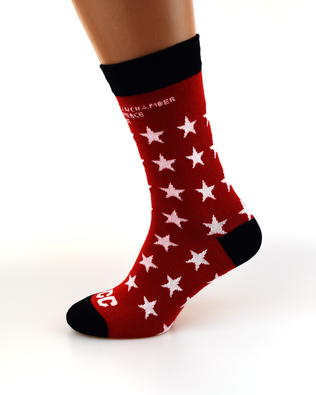 Носки с логотипом звезды